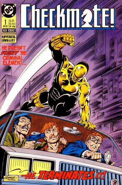 Checkmate #1 by Paul Kupperberg, Steve Erwin, Al Vey