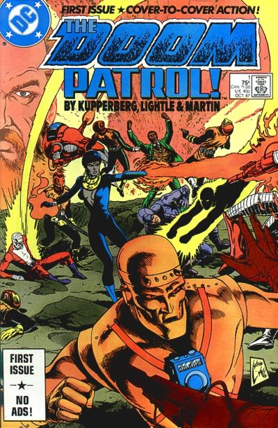 Doom Patrol #1 by Paul Kupperberg, Steve Lightle, Gary Martin