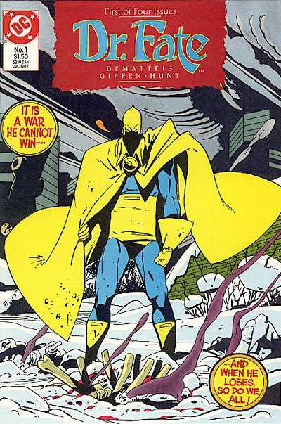 Dr Fate #1 by DeMatteis, Giffen, Hunt