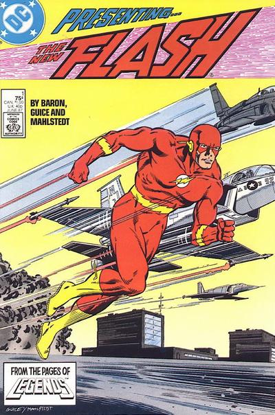 Flash by #1 Mike Baron, Jackson Guice, and Larry Mahlstedt