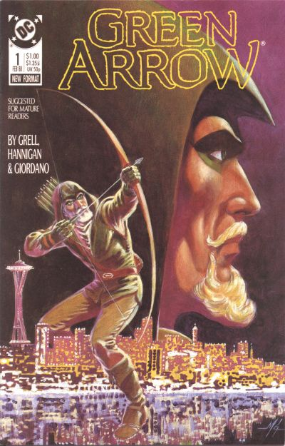 Green Arrow #1 by Mike Grell, Ed Hannigan, Dick Giordano