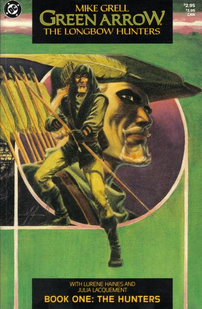 Green Arrow The Longbow Hunters #1 by Mike Grell