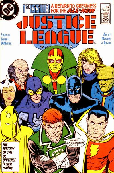 Justice League #1 by Keith Giffen, J M DeMatteis, Kevin Maguire
