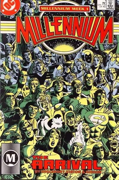 Millennium #1 by Steve Englehart, Joe Staton, and Ian Gibson