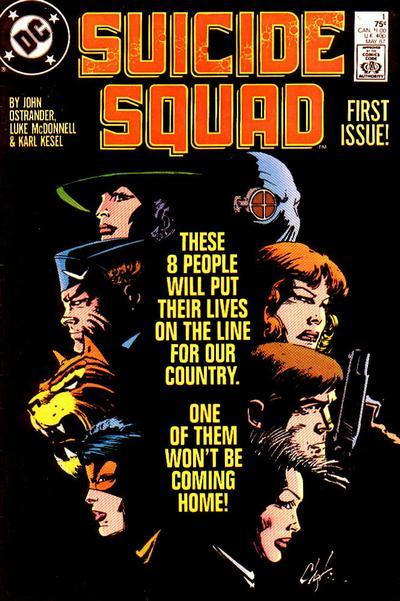 Suicide Squad #1 by John Ostrander, Luke McDonnell, Karl Kesel