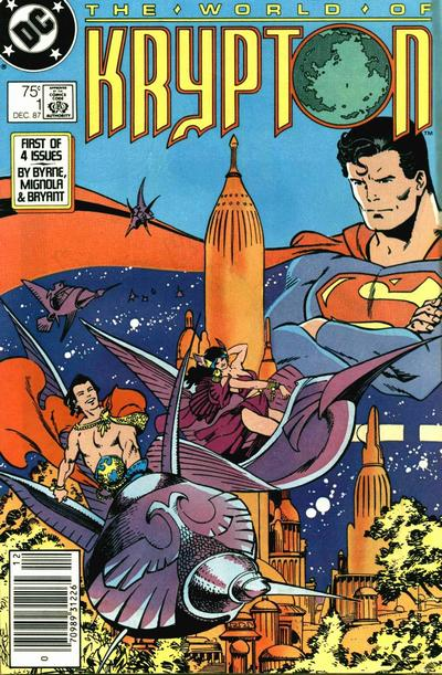 World of Krypton#1 by John Byrne, Mike Mignola, Rick Bryant, and Walt Simonson