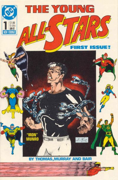 The Young All-Stars #1 by Roy Thomas, Dann Thomas, Brian Murray, Michael Bair, Malcolm Jones