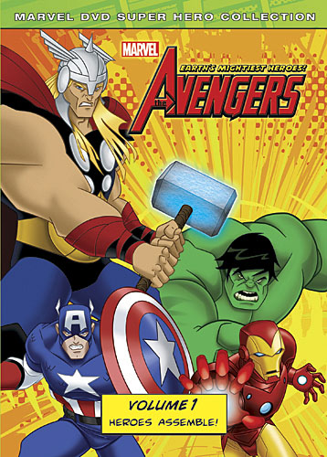 The Avengers: Earth's Mightiest Heroes DVD Volume 1