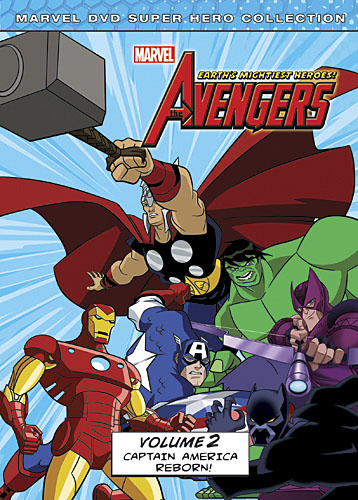 Avengers: Earth's Mightiest Heroes DVD volume 2