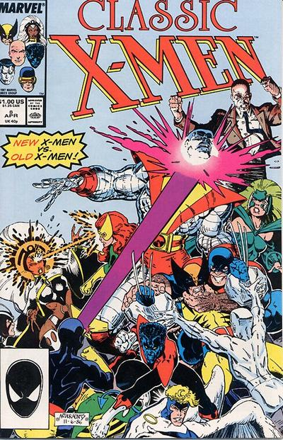 Classic X-Men #8 cover by Art Adams