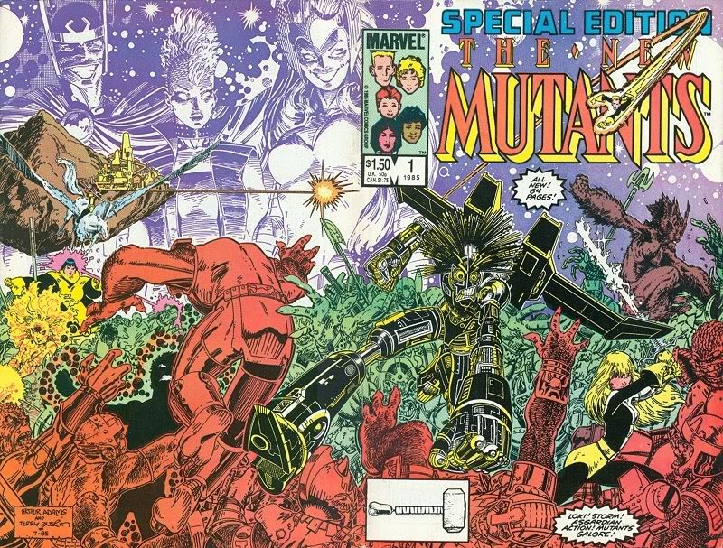 New Mutants Special by Art Adams