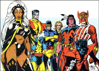 The All-New All-Different X-Men by Art Adams