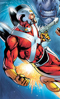 Adam Strange's old costume