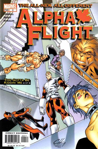 Alpha Flight volume 3, issue number 4