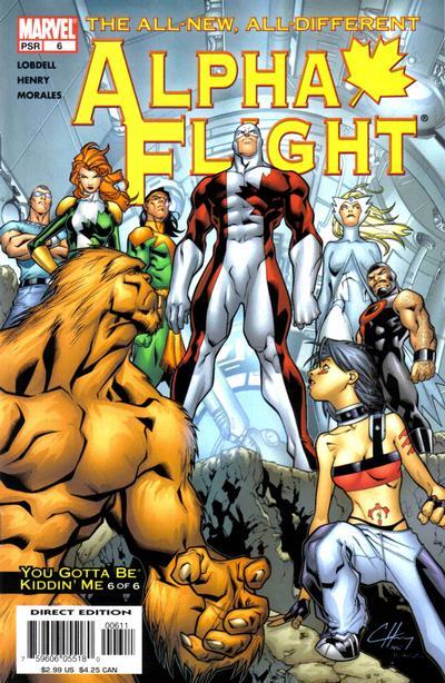 Alpha Flight volume 3, issue number 6