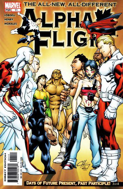 Alpha Flight volume 3, issue number 11