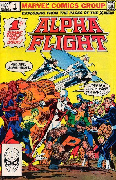 Alpha Flight volume 1, issue number 1
