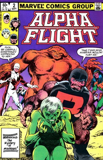 Alpha Flight volume 1, issue number 2