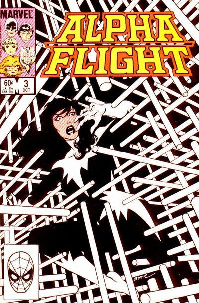 Alpha Flight volume 1, issue number 3
