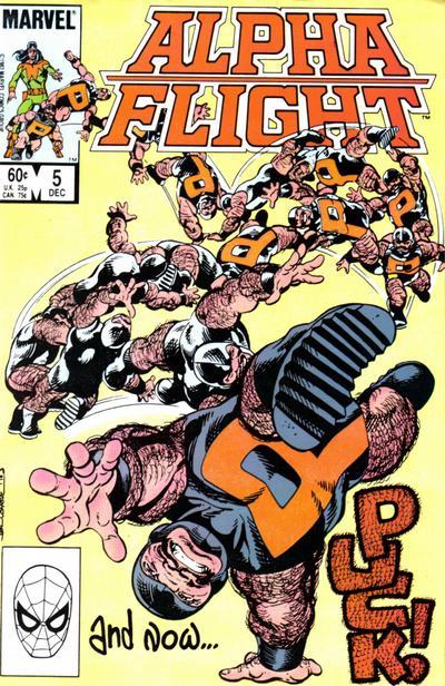Alpha Flight volume 1, issue number 5
