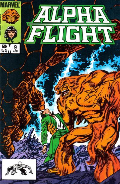 Alpha Flight volume 1, issue number 9