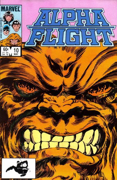 Alpha Flight volume 1, issue number 10