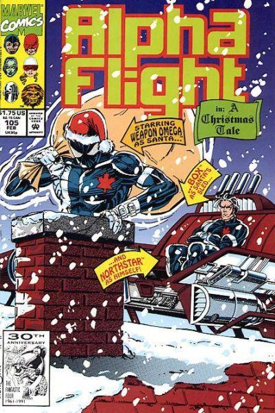 Alpha Flight volume 1, issue number 105