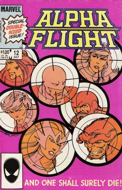 Alpha Flight volume 1, issue number 12