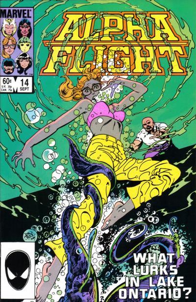 Alpha Flight volume 1, issue number 14