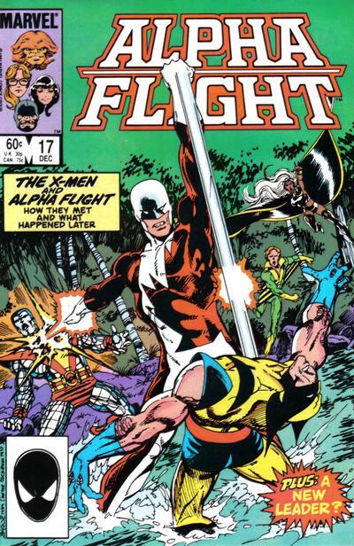 Alpha Flight volume 1, issue number 17