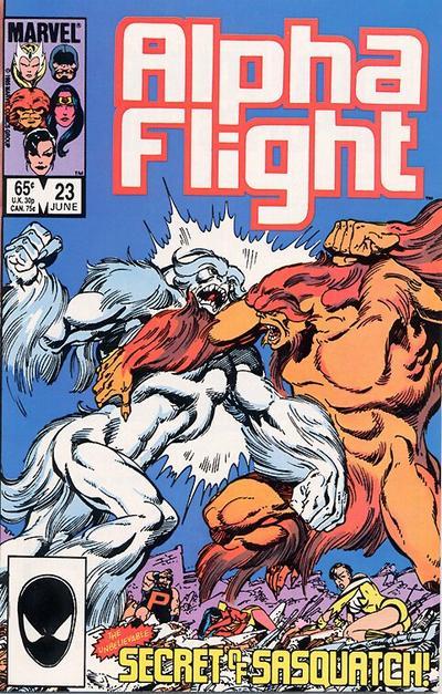 Alpha Flight volume 1, issue number 23