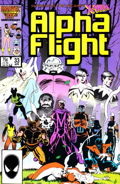 Alpha Flight volume 1, issue number 33