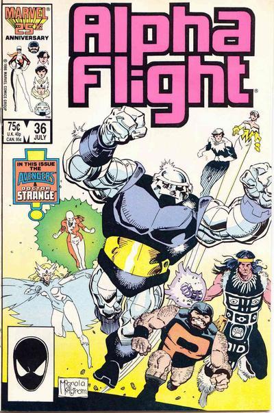 Alpha Flight volume 1, issue number 36