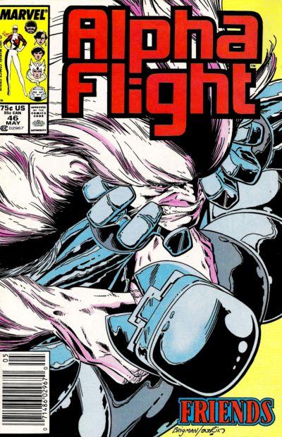 Alpha Flight volume 1, issue number 46
