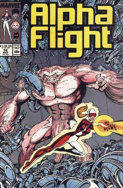 Alpha Flight volume 1, issue number 56