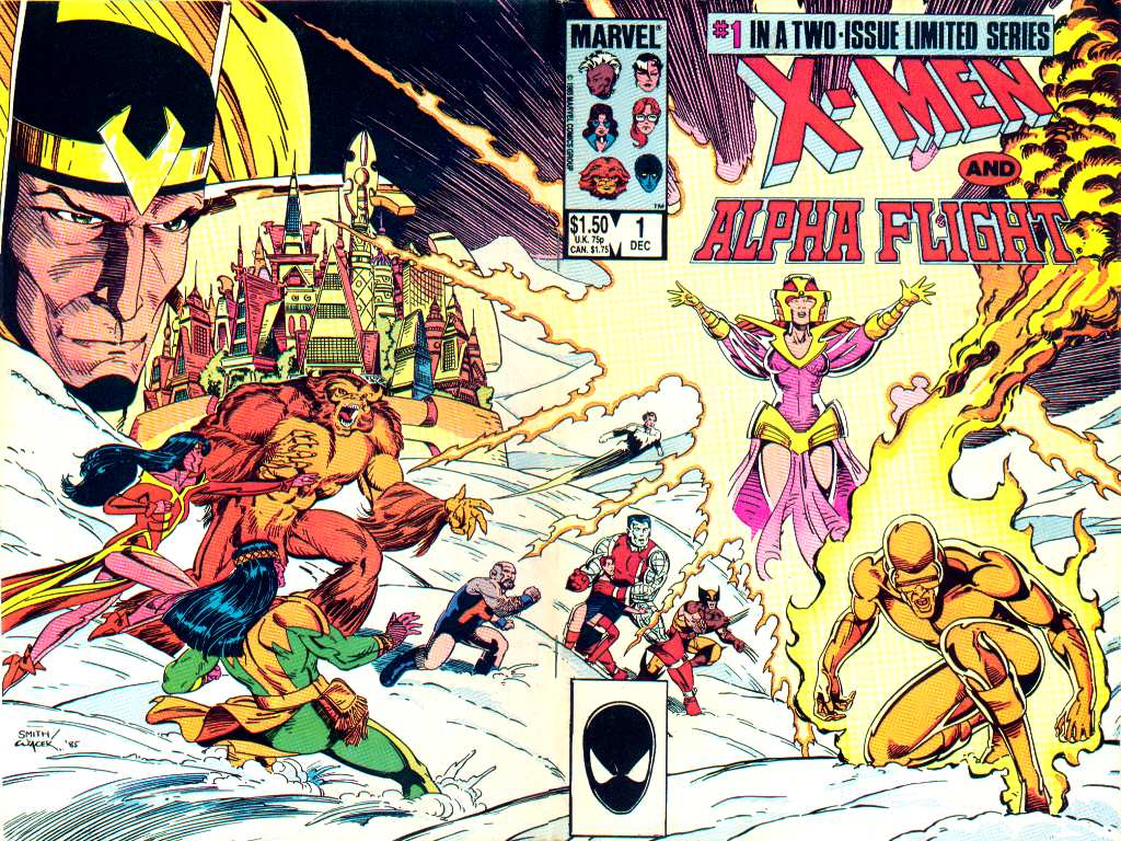 X-Men and Alpha Flight limited series #1
