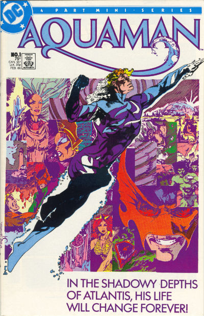 Aquaman 1986 mini-series
