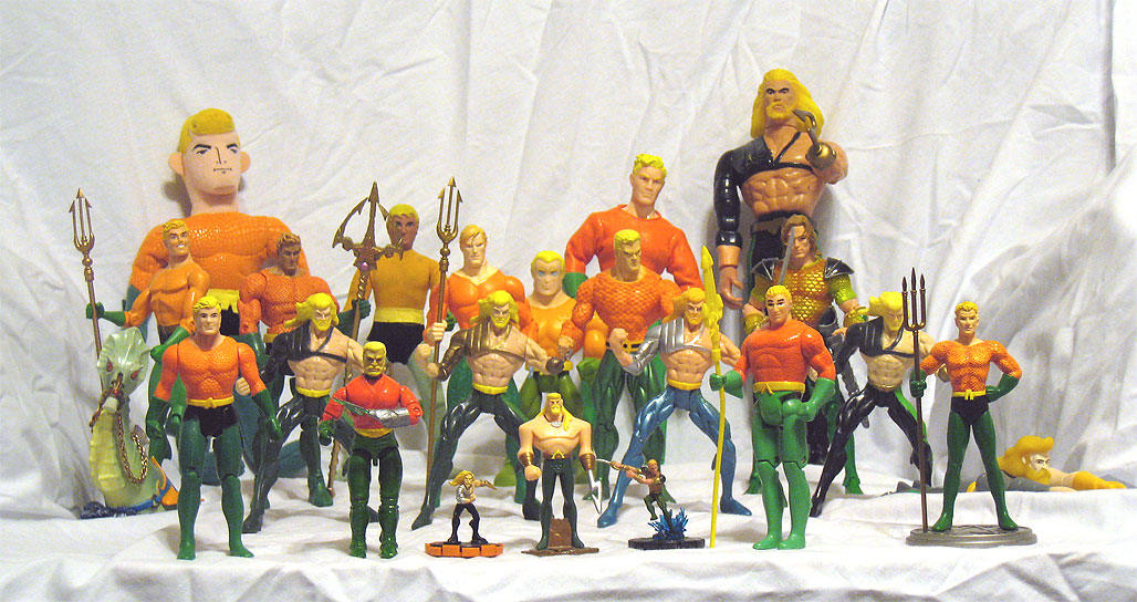 My Aquaman Figure Collection