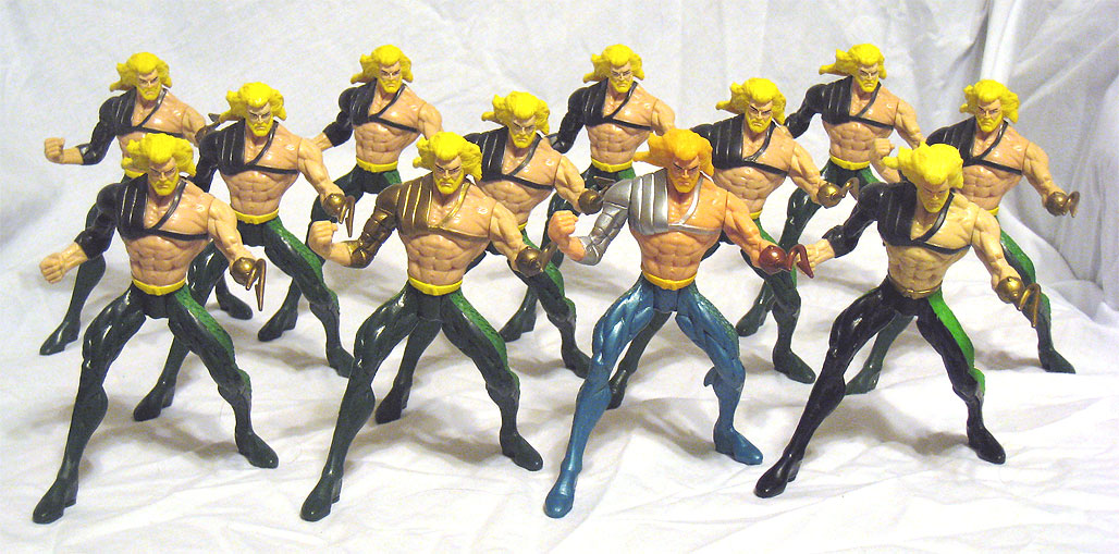 Total Justice Aquaman - Set of 12