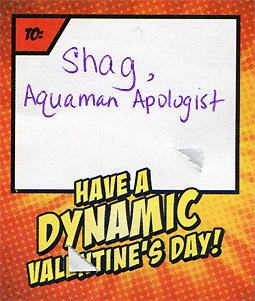 Aquaman Batman: The Brave and the Bold Valentine