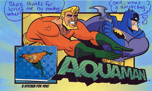 Aquaman Batman: The Brave and the Bold Valentine