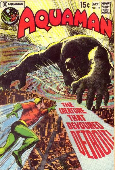 Aquaman #56 cover by Nick Cardy