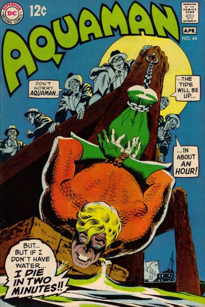 Aquaman #44 cover by Nick Cardy