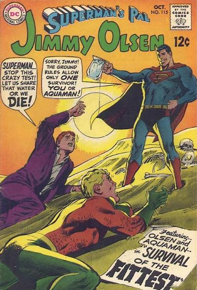 Superman's Pal Jimmy Olsen #115