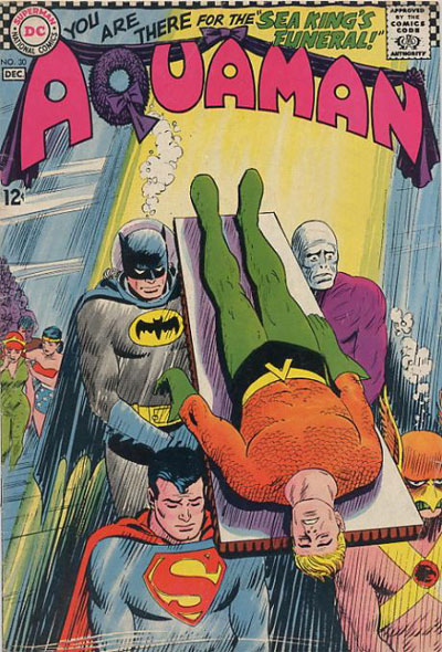 Aquaman #30 cover by Nick Cardy