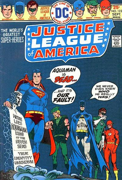 Justice League of America #122
