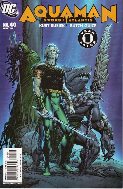 Aquaman v6 #40