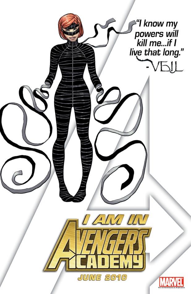 Avengers Academy Tease - Veil