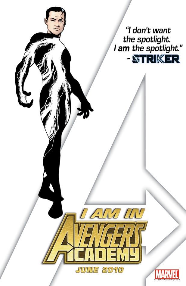 Avengers Academy Teaser - Striker