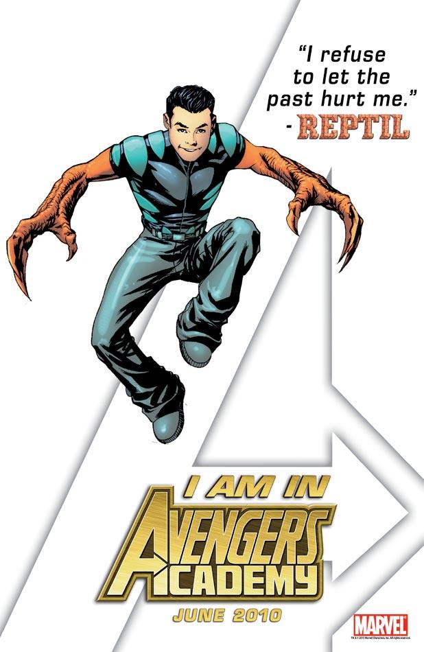 Avengers Academy Teaser - Reptil